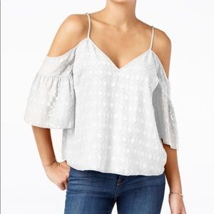 Guess Deana Off- The- Shoulder Printed Top